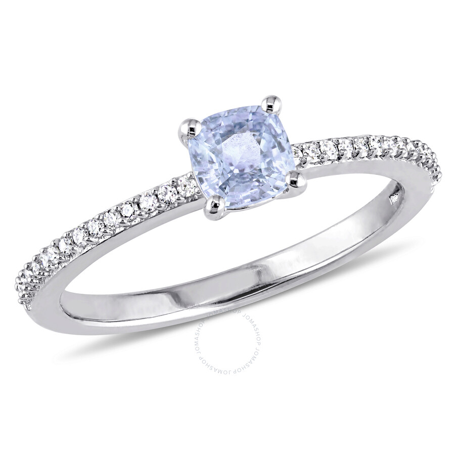 sapphire zirconia plated silver and p over wedding in cubic blue ring gold halo white rings sterling zirocnia