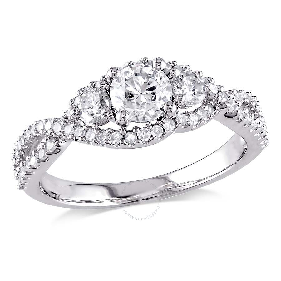from brilliant platinum stone bridal three cut rings jewellery ring diamond image