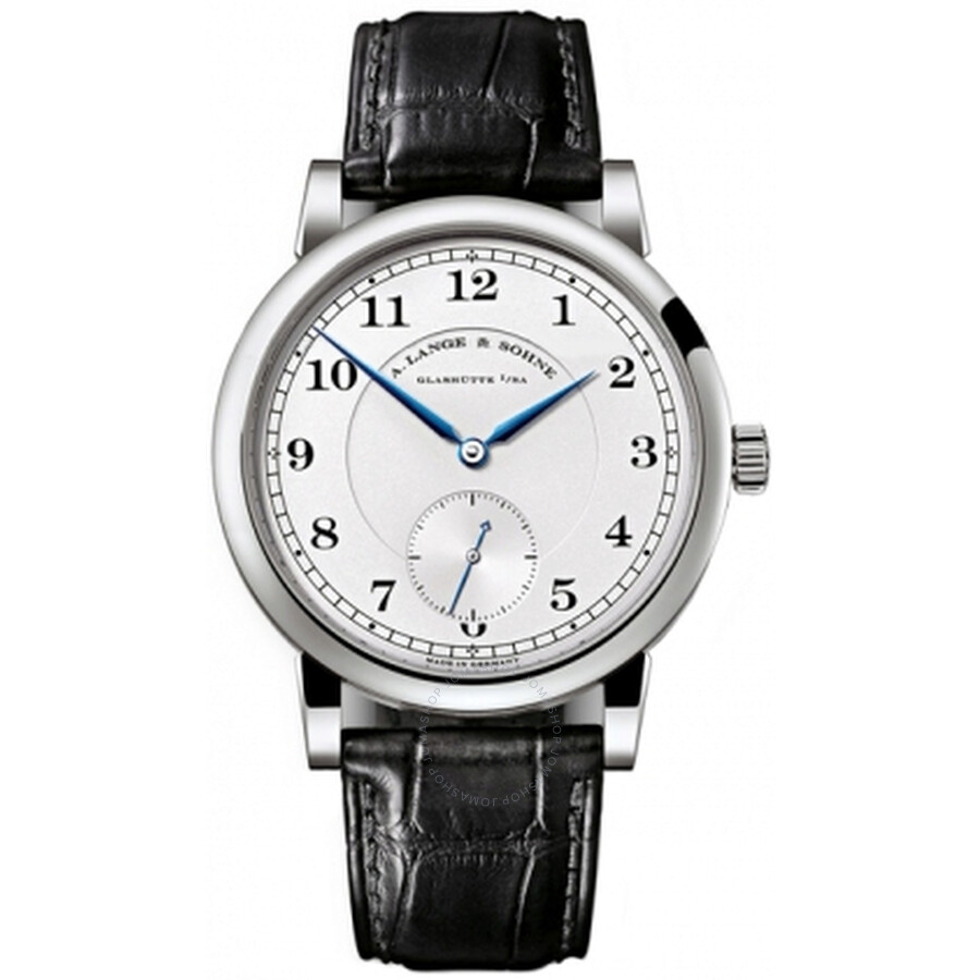 A. Lange and Sohne 1815 Silver Dial 18K White Gold Mens Watch 233.026
