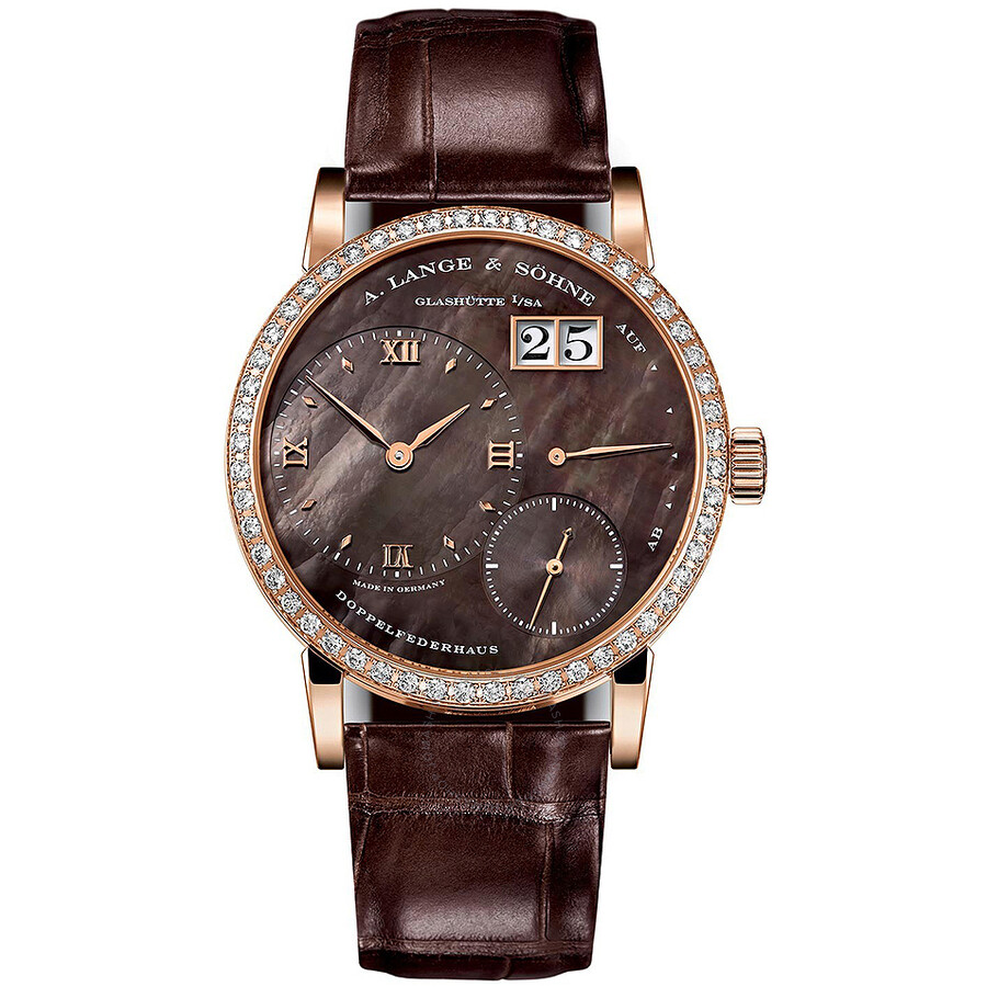 A. Lange and Sohne Little Lange 1 Soiree 18K Rose Gold Diamond Ladies Watch 813.043