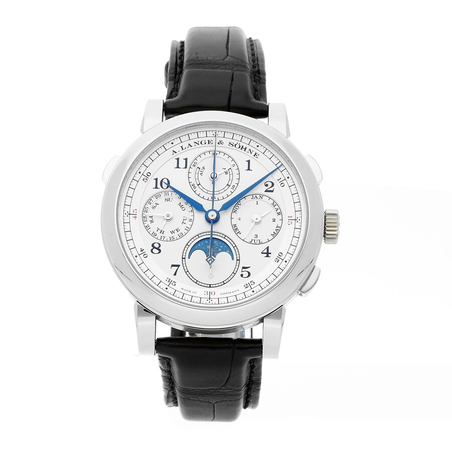 A. Lange and Sohne 1815 Rattrapante Perpetual Calendar Mens Watch 421.025