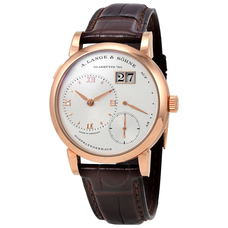 a lange sohne male a lange and sohne lange 1 18k rose gold mens watch 191032