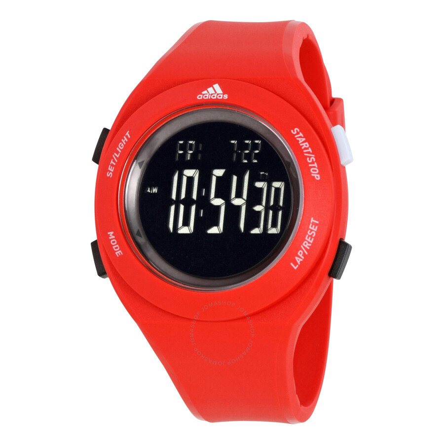 Red Adidas Watch Best Pictures Of Adh3017 Aberdeen Dial Rubber Strap Men S Silicone Adp3209 Watches Joma