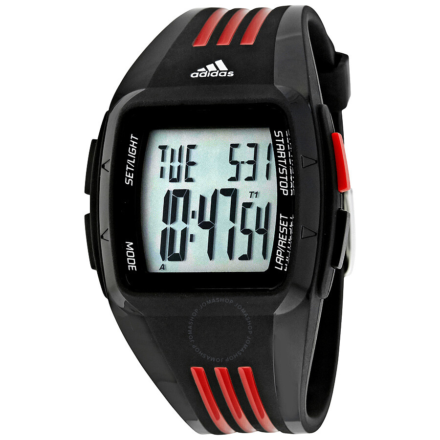 Red Adidas Watch Best Pictures Of Adh3017 Aberdeen Dial Rubber Strap Performance Black And Multifunction Men S Adp6098