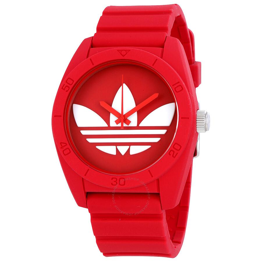 Red Adidas Watch Best Pictures Of Adh3017 Aberdeen Dial Rubber Strap Santiago Men S Adh6168