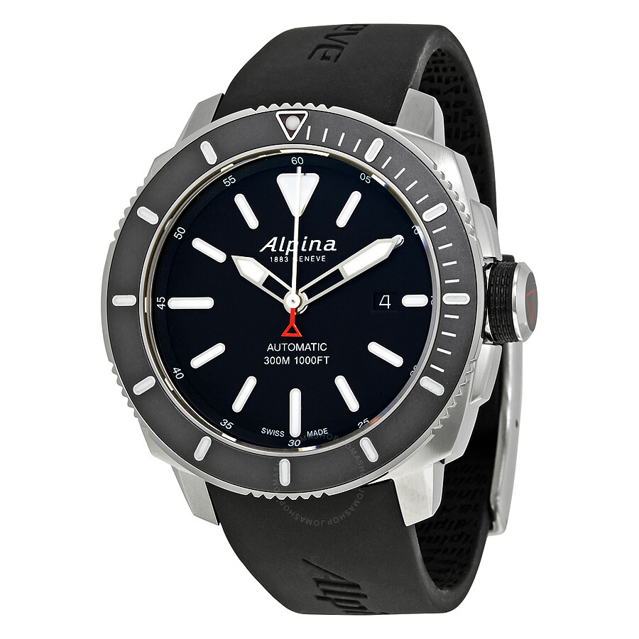 Alpina Seastrong Diver Automatic Mens Watch LBGV - Alpina watches price