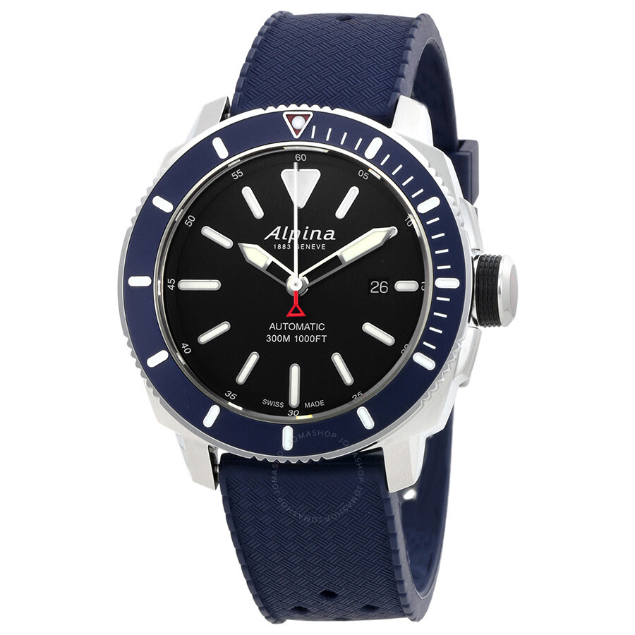Alpina Seastrong Diver Automatic Mens Watch LBNV - Alpina watches price