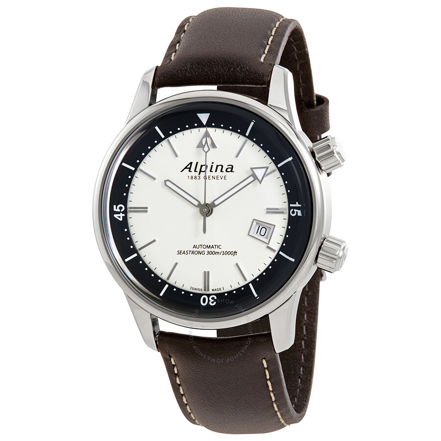 Alpina Seastrong Diver Heritage Automatic Mens Watch SH - Alpina diver watch