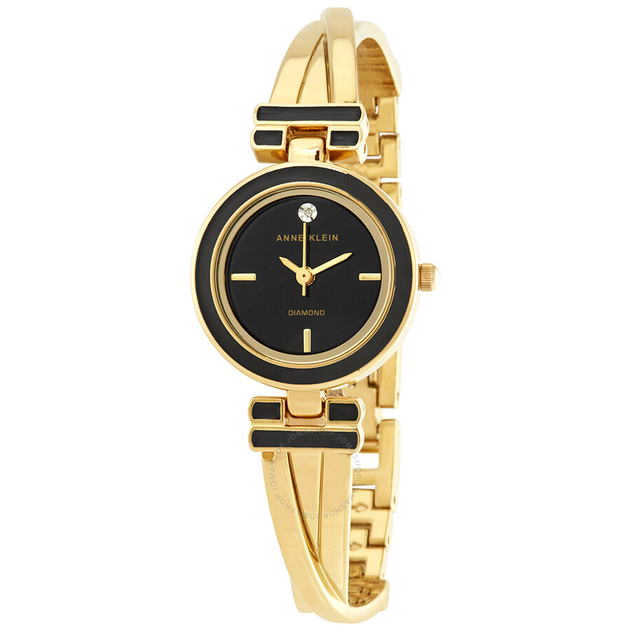 Anne Klein Black Dial Ladies Watch 2622BKGB