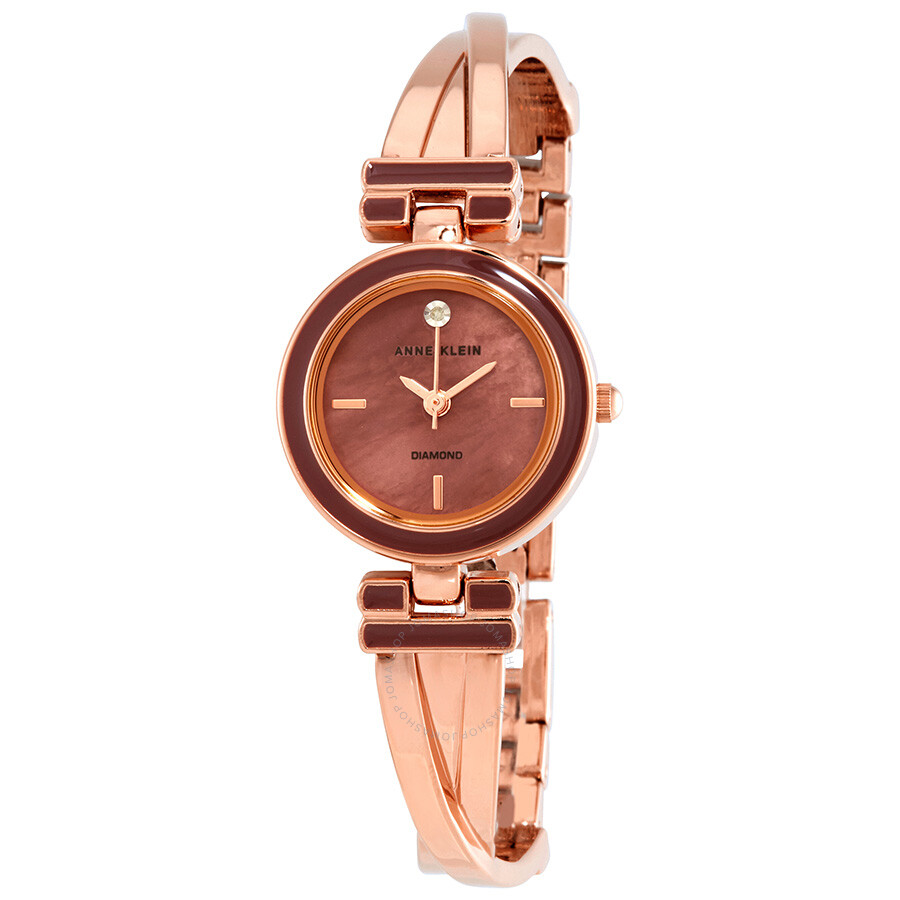 Anne Klein Diamond Ladies Watch 2622MVRG