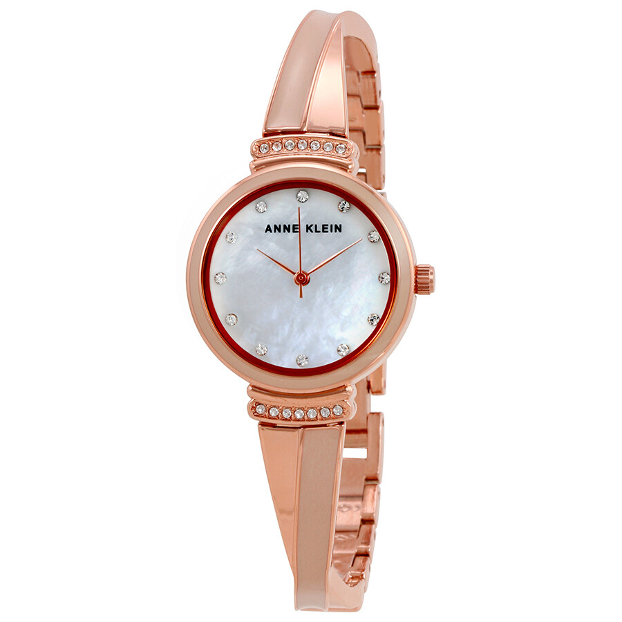Anne Klein Mother of Pearl Dial Ladies Watch 2216BLRG