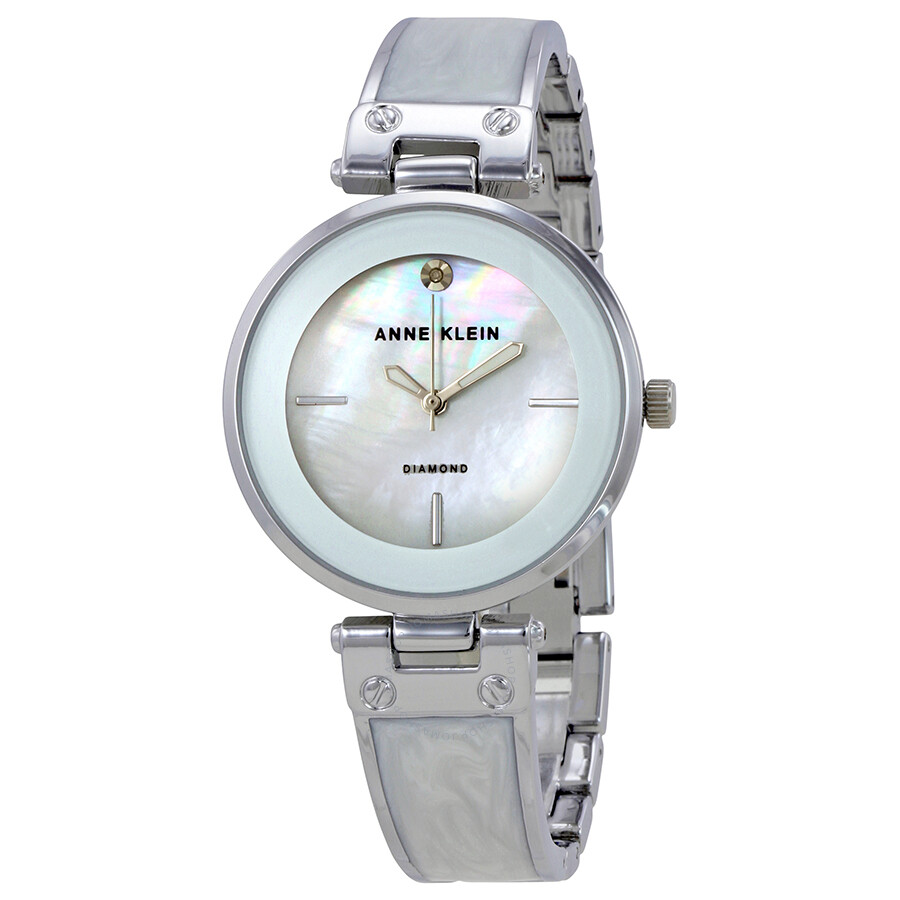 Anne Klein Mother of Pearl Dial Ladies Watch 2513WTSV