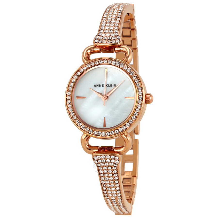 Anne Klein Mother of Pearl Dial Ladies Watch 2816MPRG