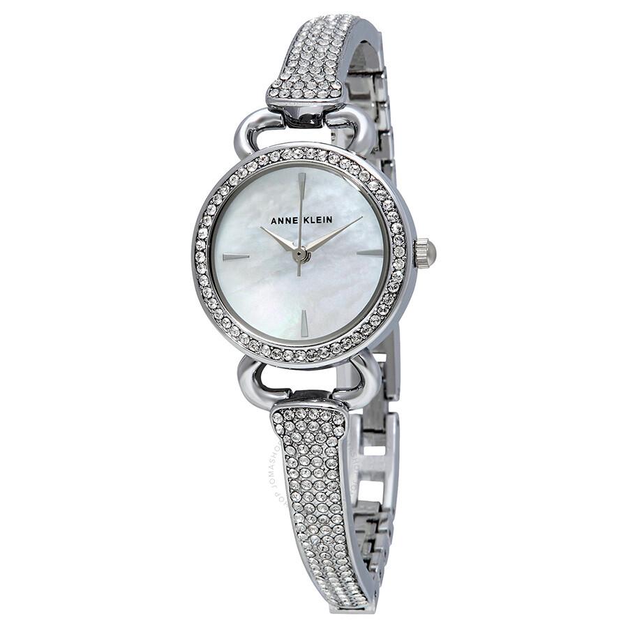 Anne Klein Mother of Pearl Dial Ladies Watch 2817MPSV