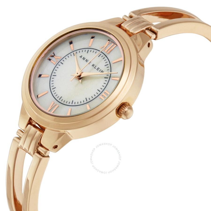 Anne klein rose gold dress watch