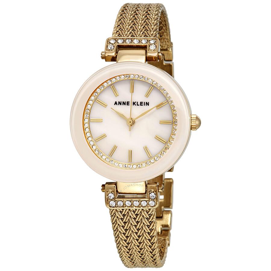 Anne Klein Pink Blush Dial Ladies Watch 1906PMGB