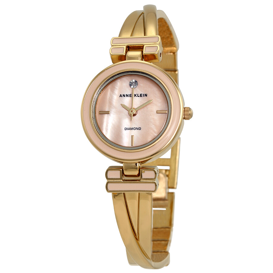 Anne Klein Pink Blush Dial Ladies Watch 2622LPGB