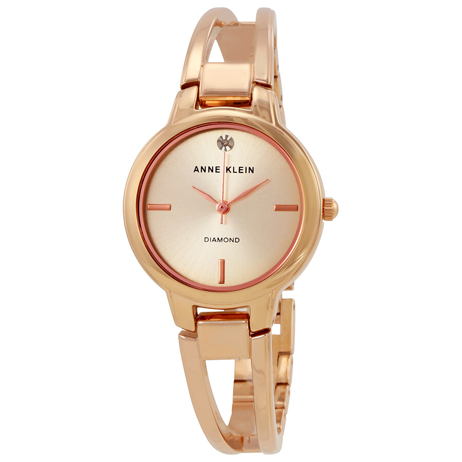 Anne Klein Rose Dial Ladies Watch 2626RGRG