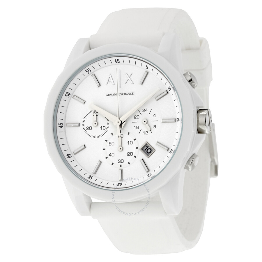 Armani exchange active chronograph men 39 s watch ax1325 armani exchange watches jomashop for Armani exchange watches