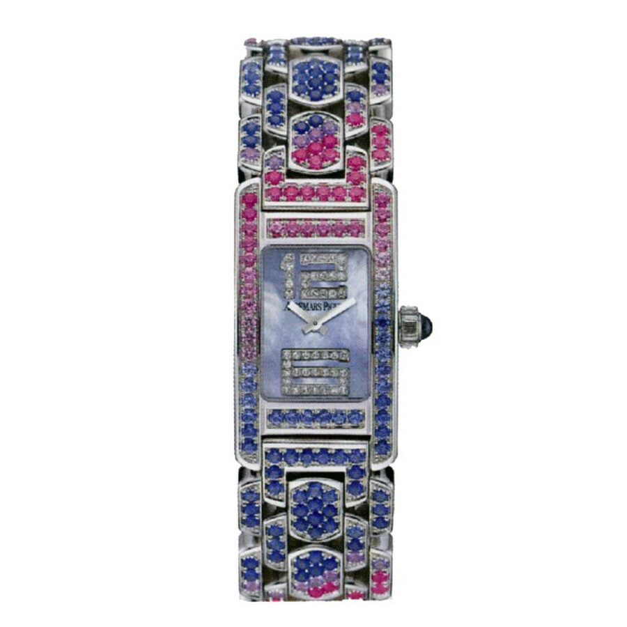 Audemars Piguet Promesse Multi-Colored Sapphire and White Gold Ladies Watch 67465BC. YY.1189BC.02