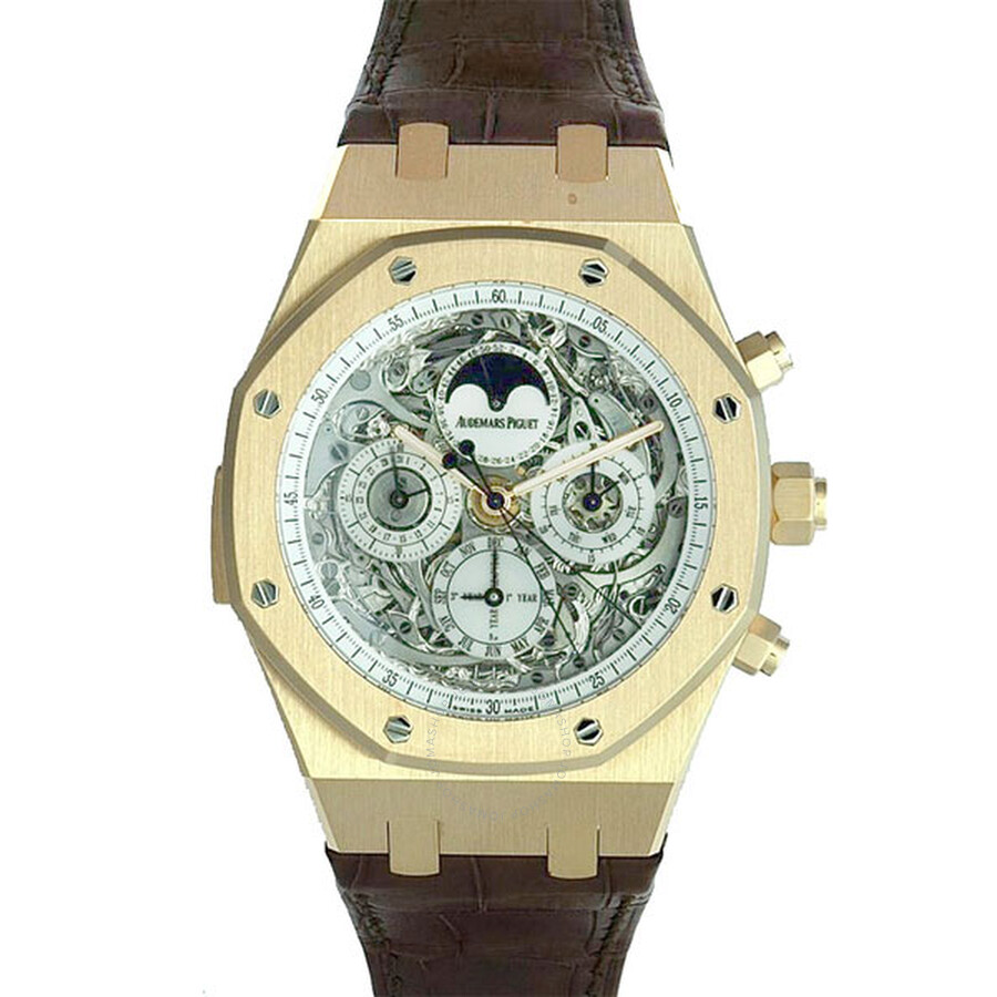 Audemars Piguet Royal Oak Grande Complication Automatic Rose Gold Mens Watch 26065OR. OO. D088CR.01