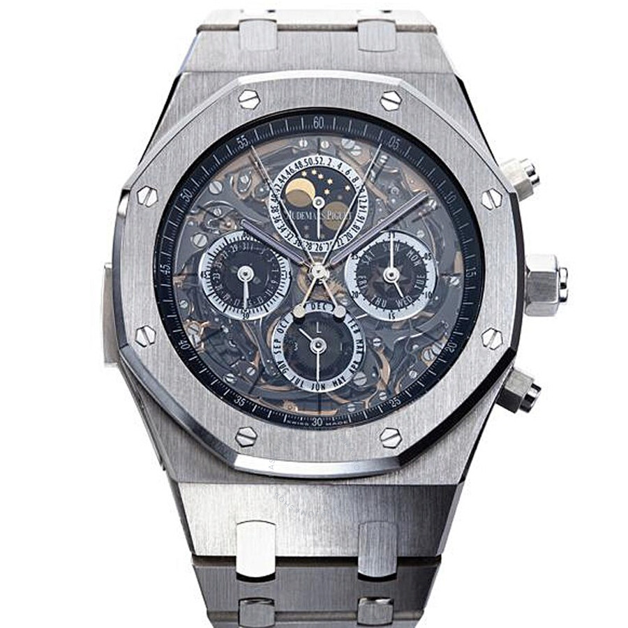 Audemars Piguet Royal Oak Grande Complication Automatic Titanium Mens Watch 26065IS. OO.1105IS.01