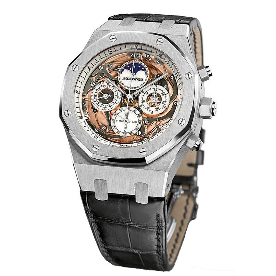 Audemars Piguet Royal Oak Grande Complication Automatic White Gold Mens Watch 26552BC. OO. D002CR.01