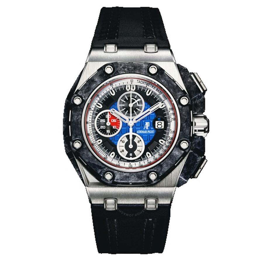 Audemars Piguet Royal Oak OffShore Automatic Chronograph Platinum Mens Watch..