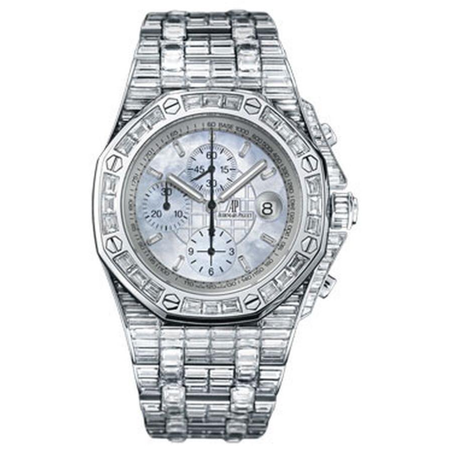 Audemars Piguet Royal Oak Offshore Chronograph Diamond Mens Watch 26174BC.ZZ..