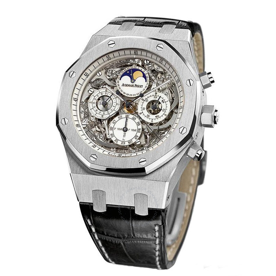 Audemars Piguet Royal Oak Openworked Grande Complication Titanium Mens Watch 26065IS. OO. D002CR.01
