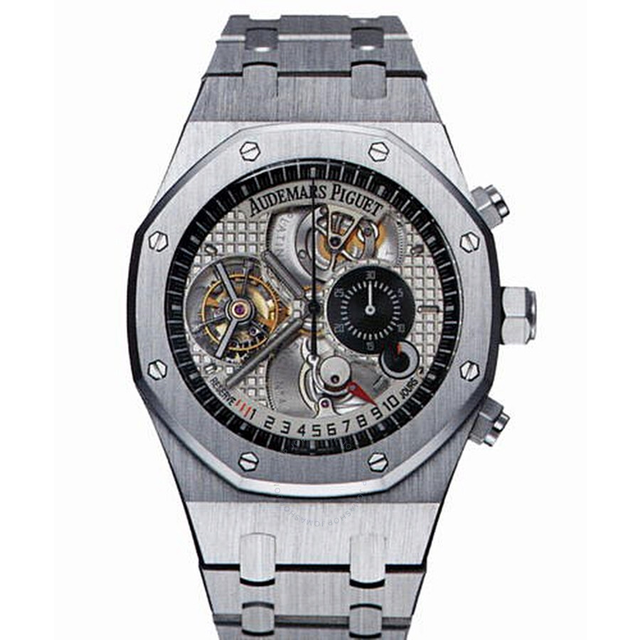 Audemars Piguet Royal Oak Tradition d'Excellence Cabonet 4 Platinum Mens Watch 25969PT. OO.1105PT.01