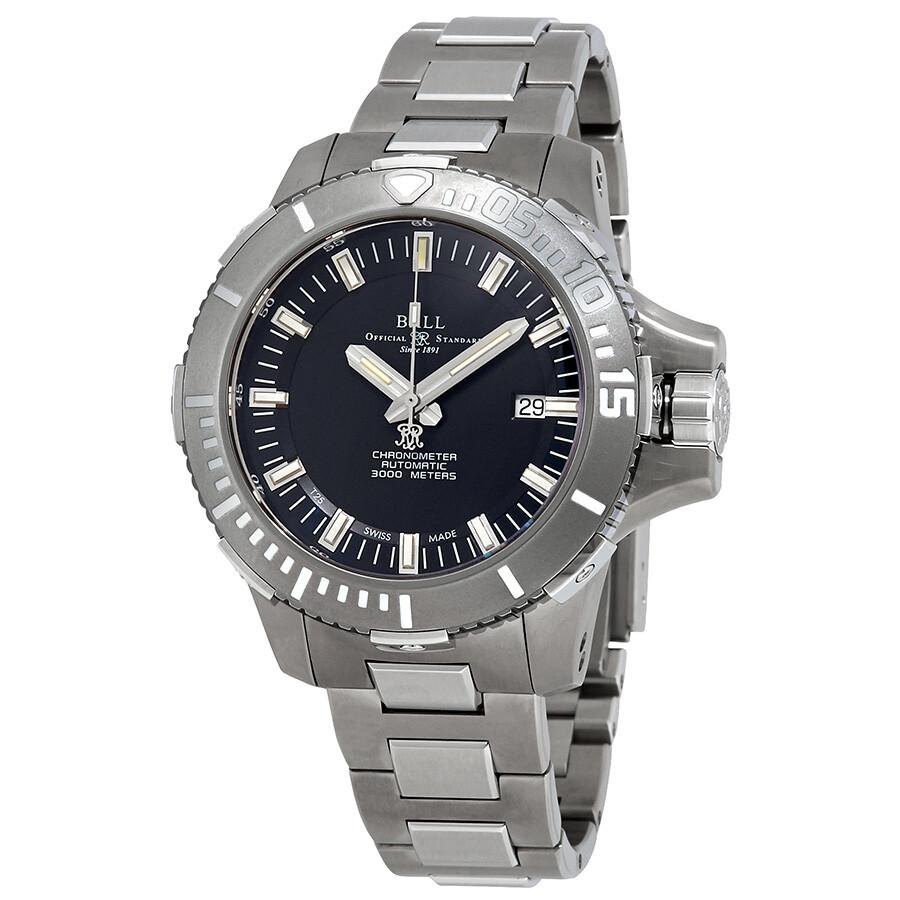 Ball DeepQUEST Automatic Chronometer Black Dial Mens Watch DM3000A-SCJ-BK
