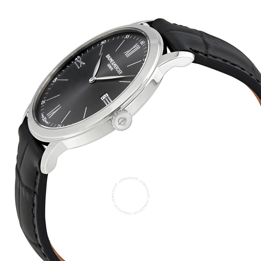 ... Baume et Mercier Classima Slate-Gray Dial Men's Watch 10416 ...