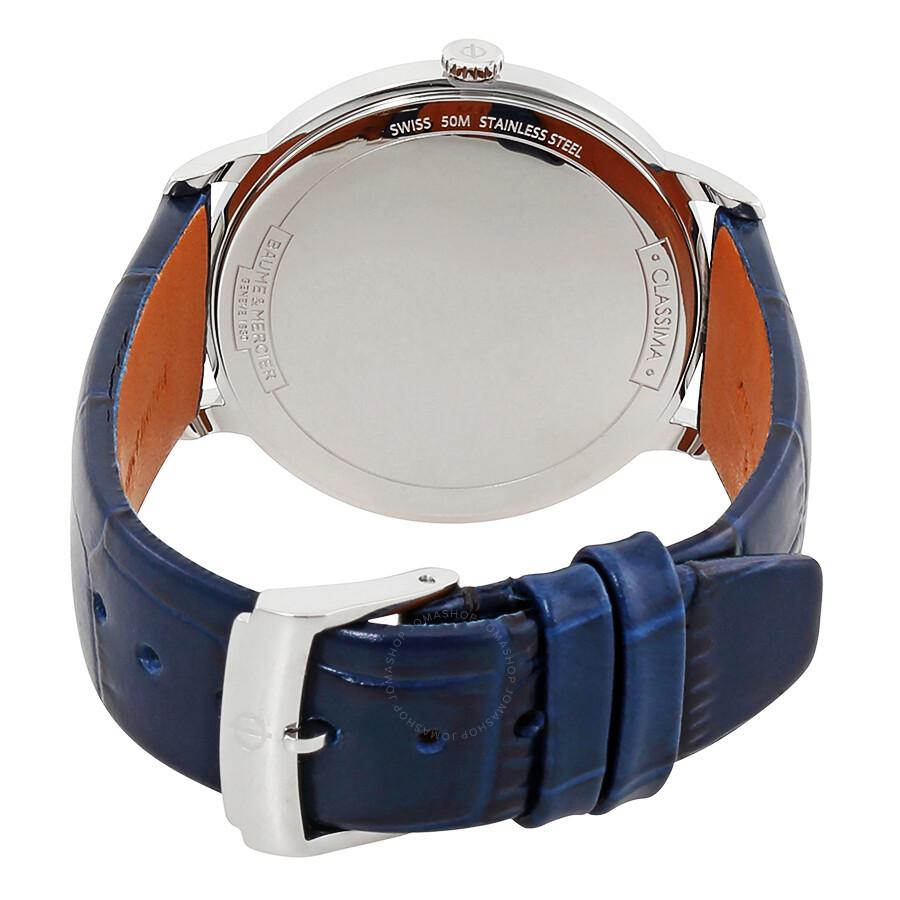 ... Baume et Mercier Classima White Dial Ladies Watch 10355