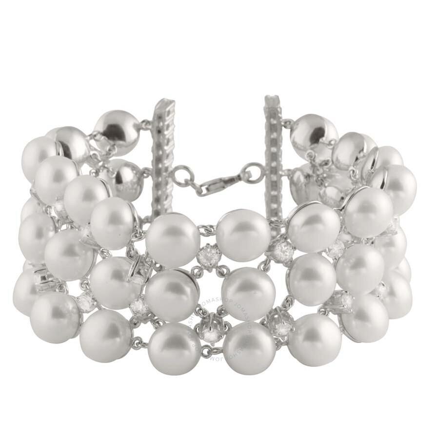 Bella Pearl Multi-Row Pearl Bracelet