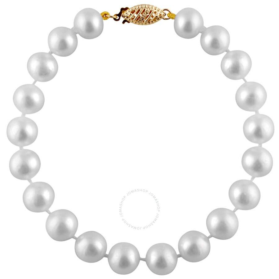 Bella Pearl White Freshwater Pearl Bracelet FWR5-7W