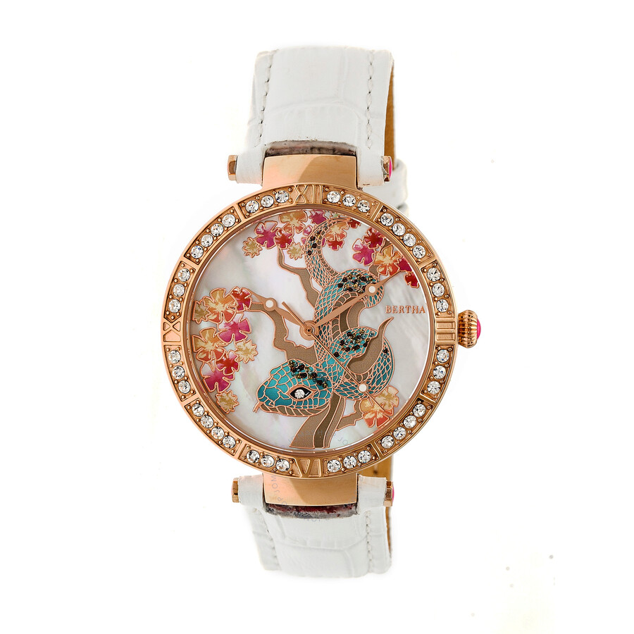 Bertha Mia Crystal Ladies Watch BR7405