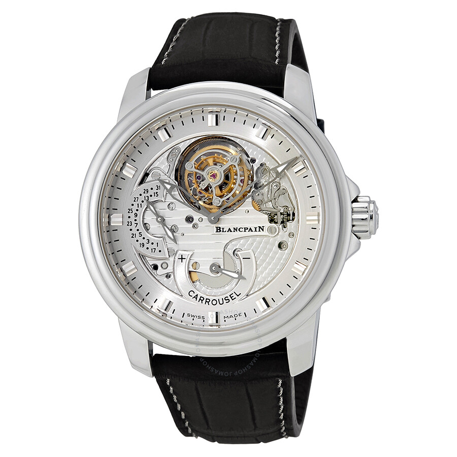 Blancpain Le Brassus One Minute Flying Carrousel Mens Watch 2253-4034-53B