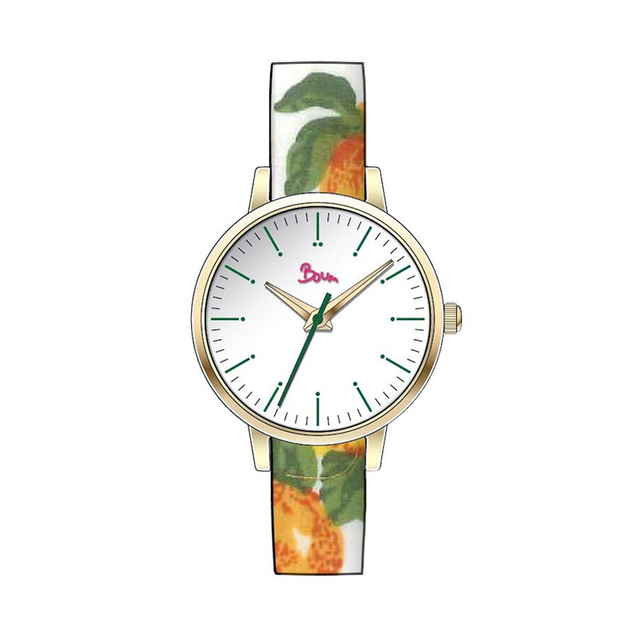Boum Arc White Dial Ladies Watch BM5003