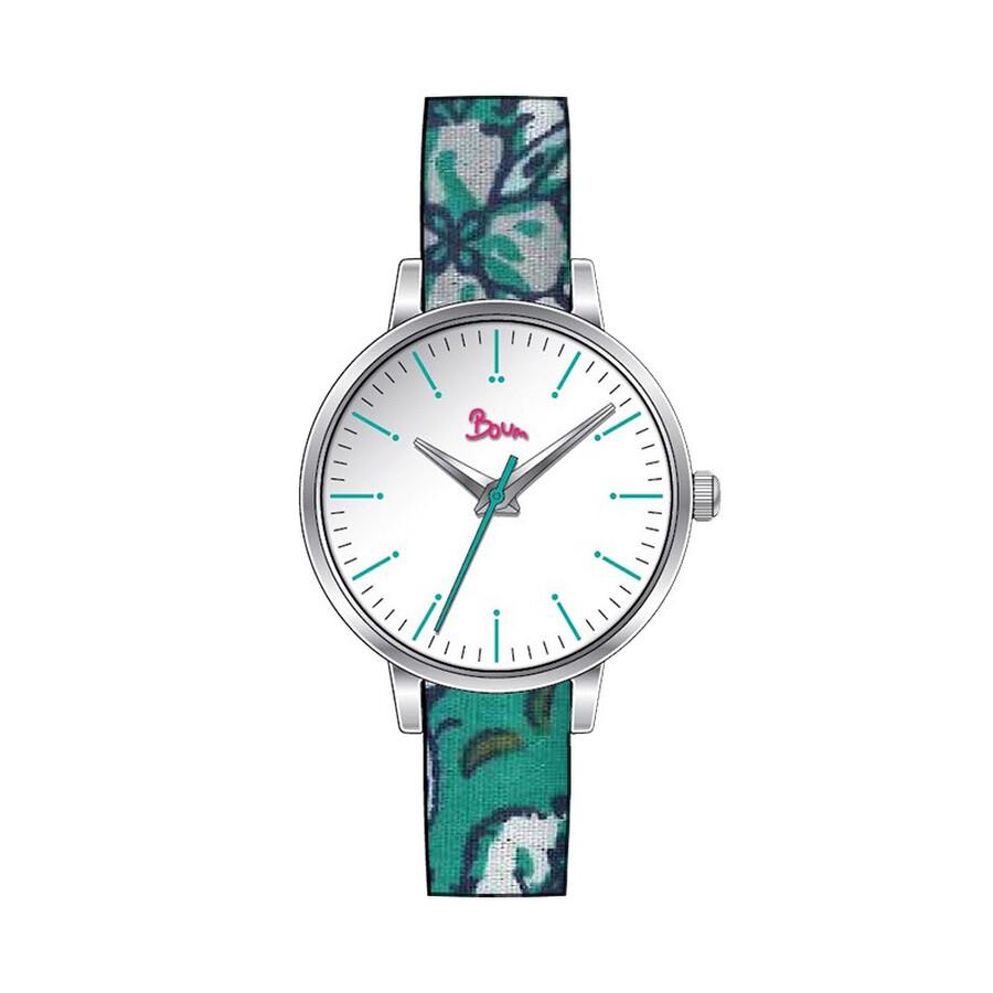 Boum Arc White Dial Ladies Watch BM5007