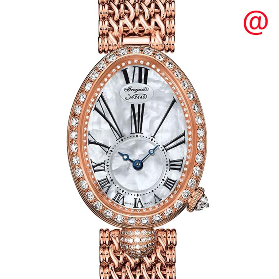 Breguet Reine de Naples Mother of Pearl 18kt Rose Gold Ladies Watch 8928BR51J20DD00