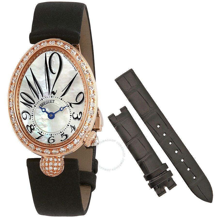 Breguet Reine de Naples Mother of Pearl Dial Ladies Watch 8928BR/5W/844.DD0D