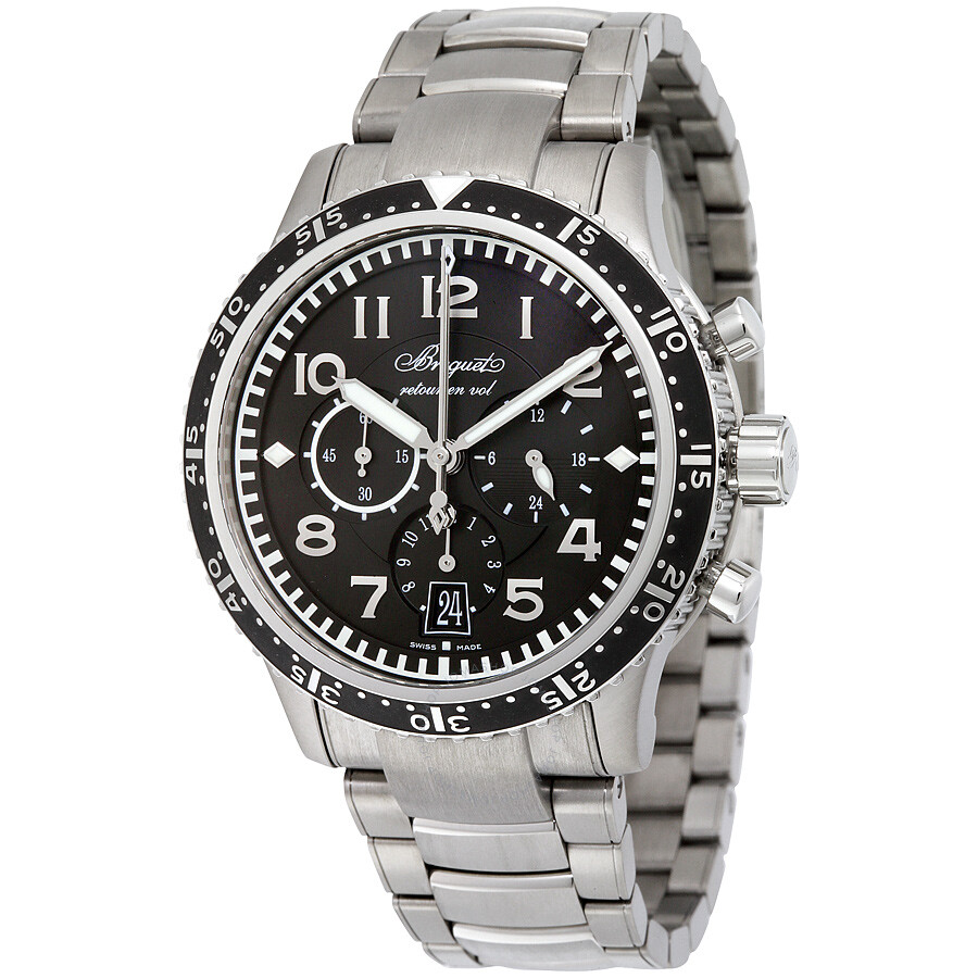 Breguet Type XXI Transatlantique Flyback Automatic Mens Watch 3810TIH2TZ9