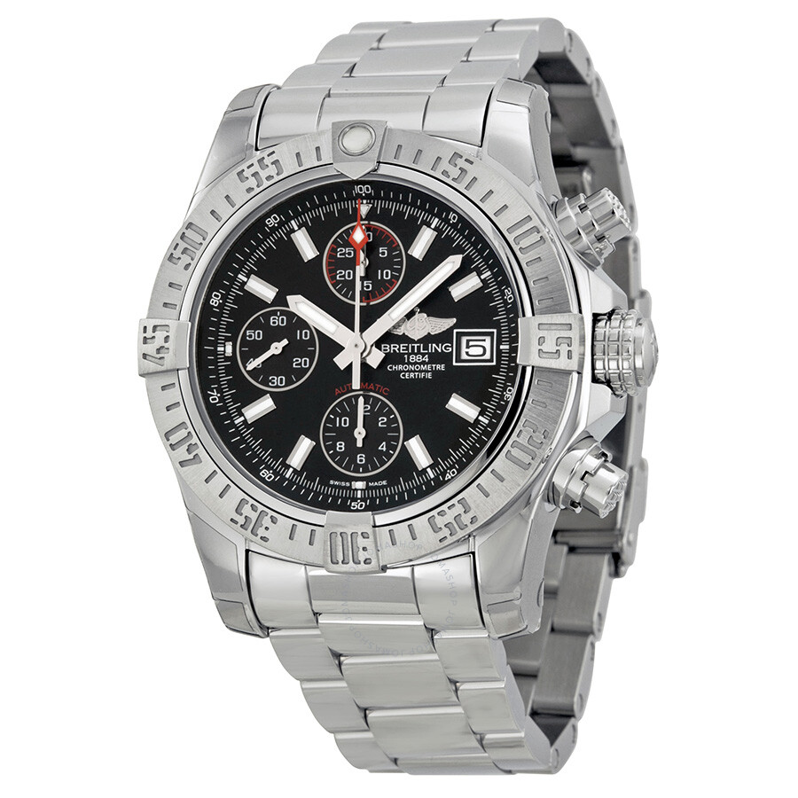 Breitling avenger ii chronograph automatic men 39 s watch a1338111 bc32ss avenger ii avenger for Avengers watches
