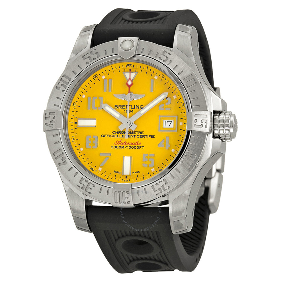 chrono quartz grande swiss yellow chisel dial stainless men watch with watches products steel