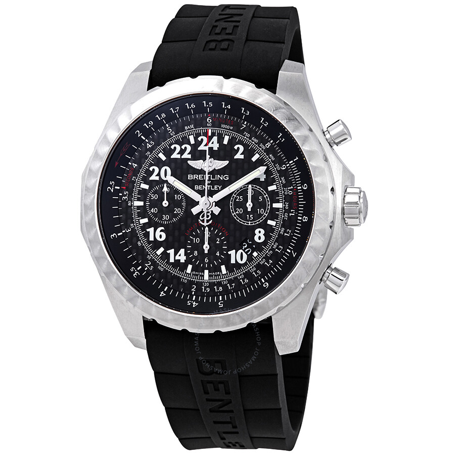 Breitling Bentley 24H Black Chronograph Dial Men's Limited