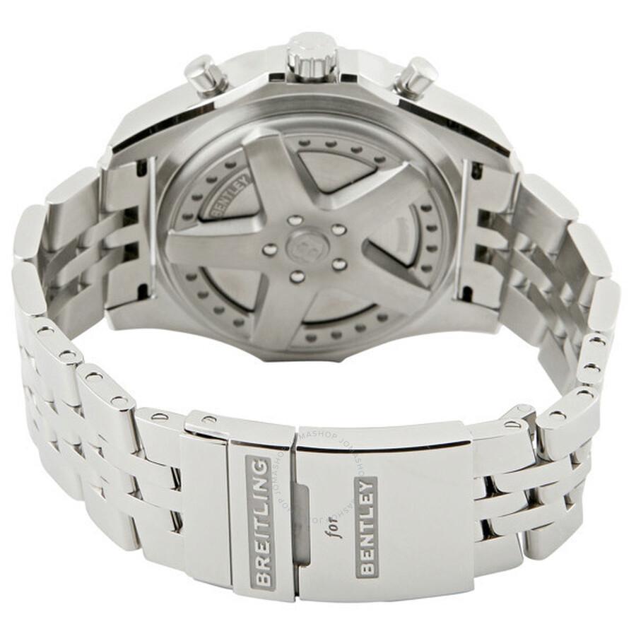 Breitling Bentley 6.75 Royal Ebony Dial Men's Watch