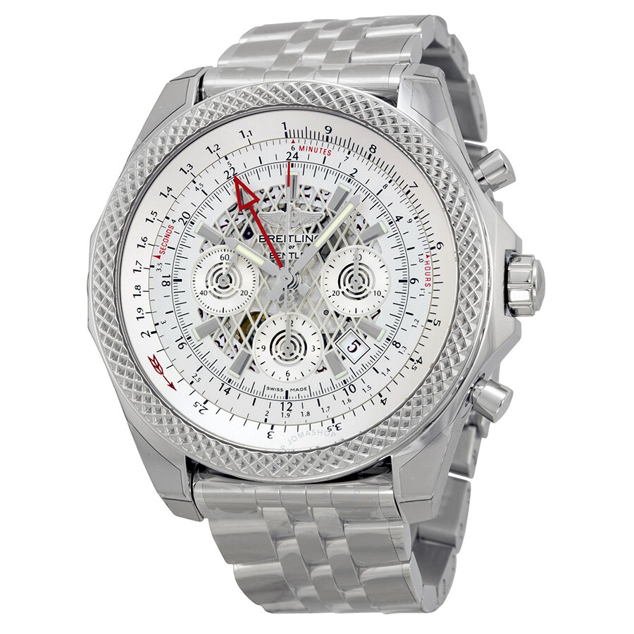 amp watches chronograph edit case diamond b bentley bezel dial breitling for mother flying pearl of limited