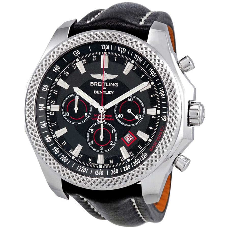 Breitling Bentley Barnato Black Dial Chronograph Men's