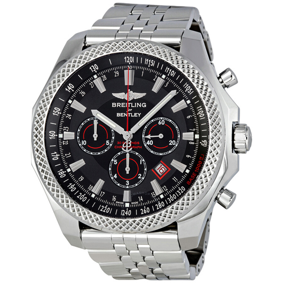 Breitling Bentley Barnato Royal Ebony Dial Chrono Watch